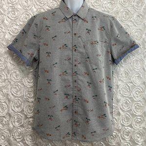 Craft + Flow | Tahiti Print Short Sleeve Shirt